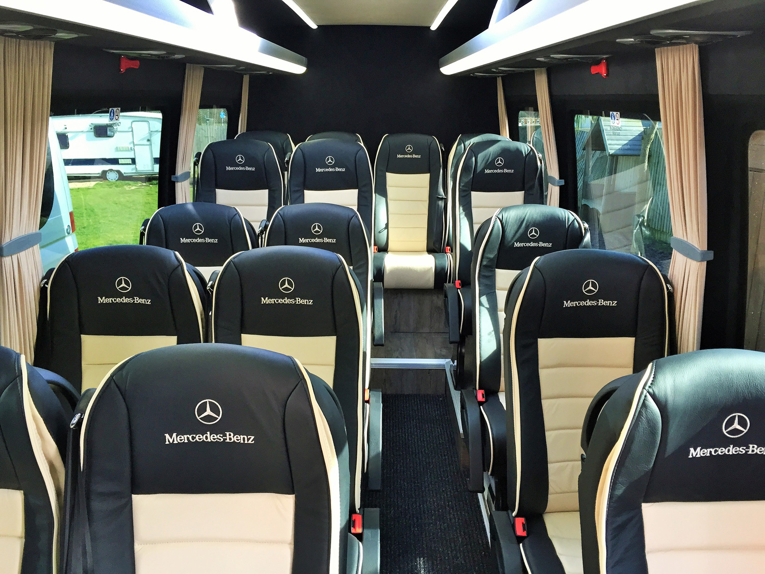 Mercedes-Benz 16 Seater Luxury Seats