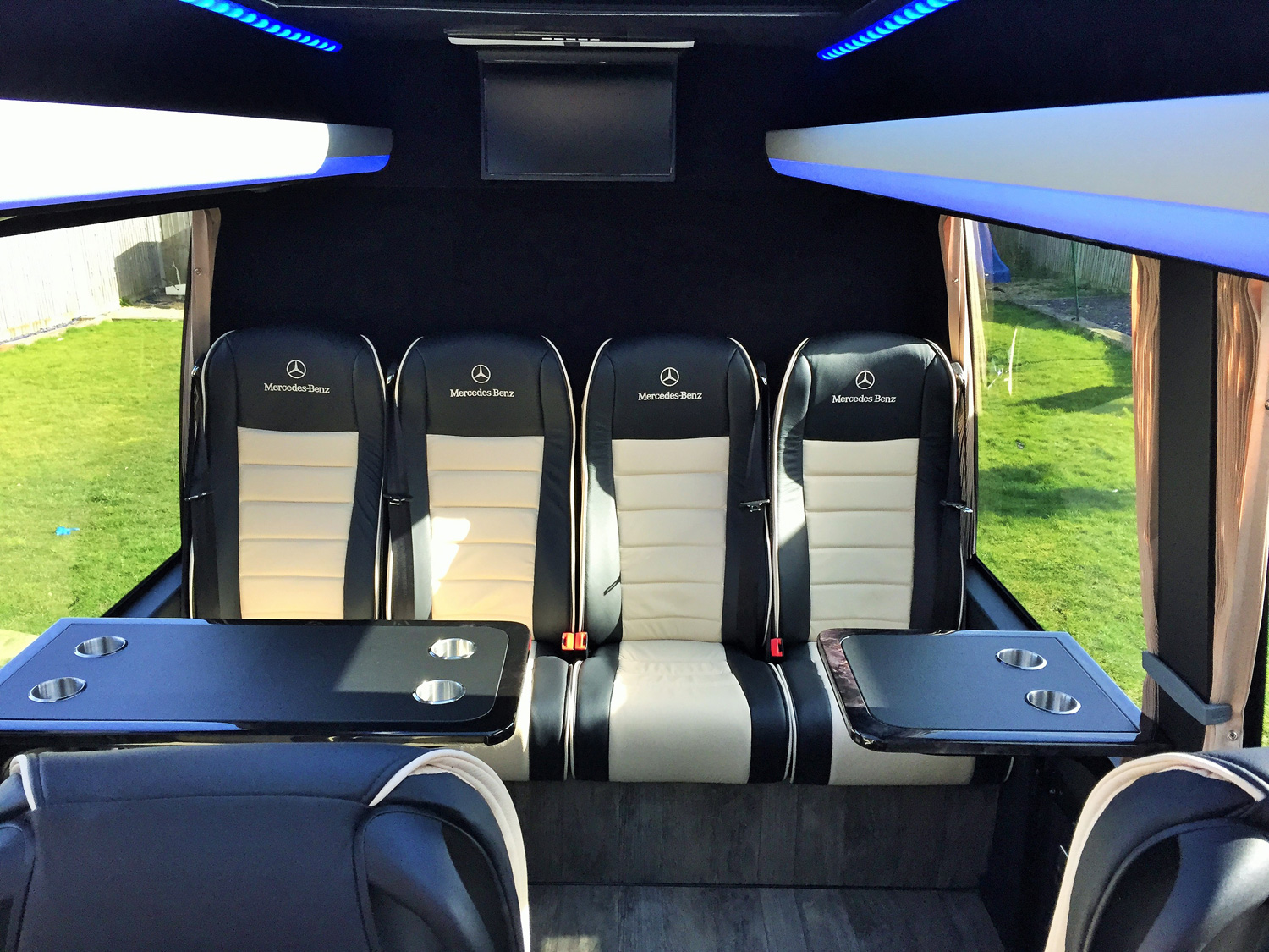 Mercedes-Benz 16 Seater VIP Interior Rear Seats