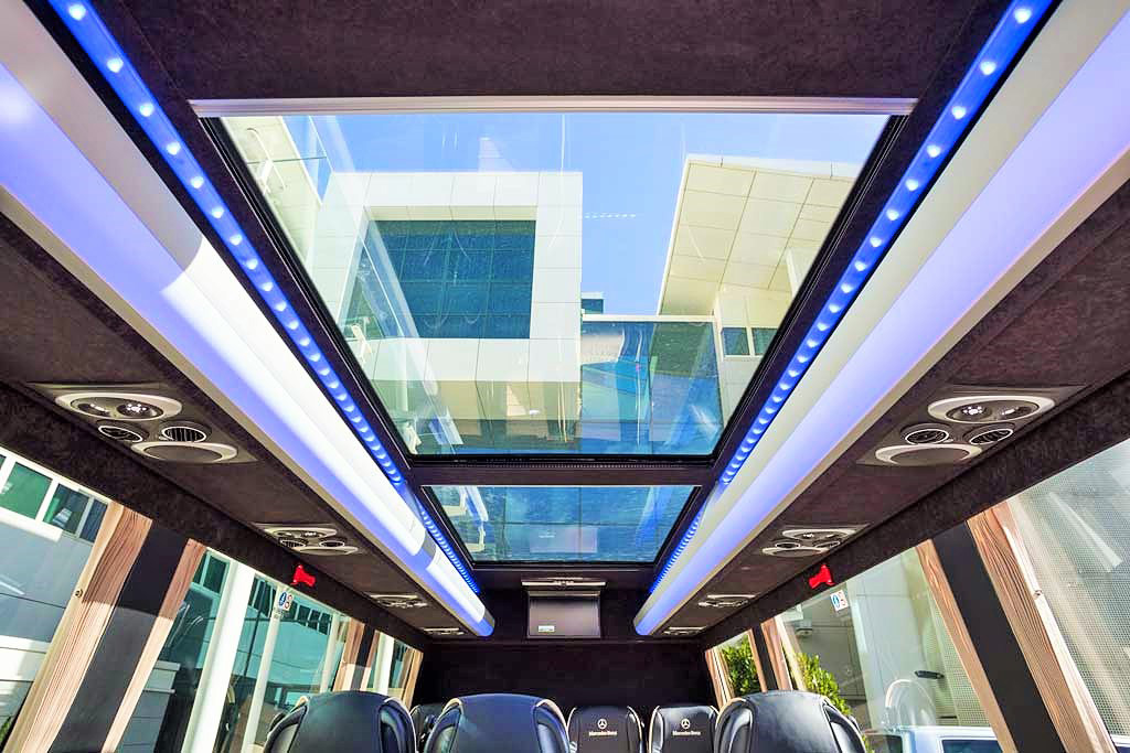 Mercedes-Benz 16 Seater VIP Interior Panoramic Roof